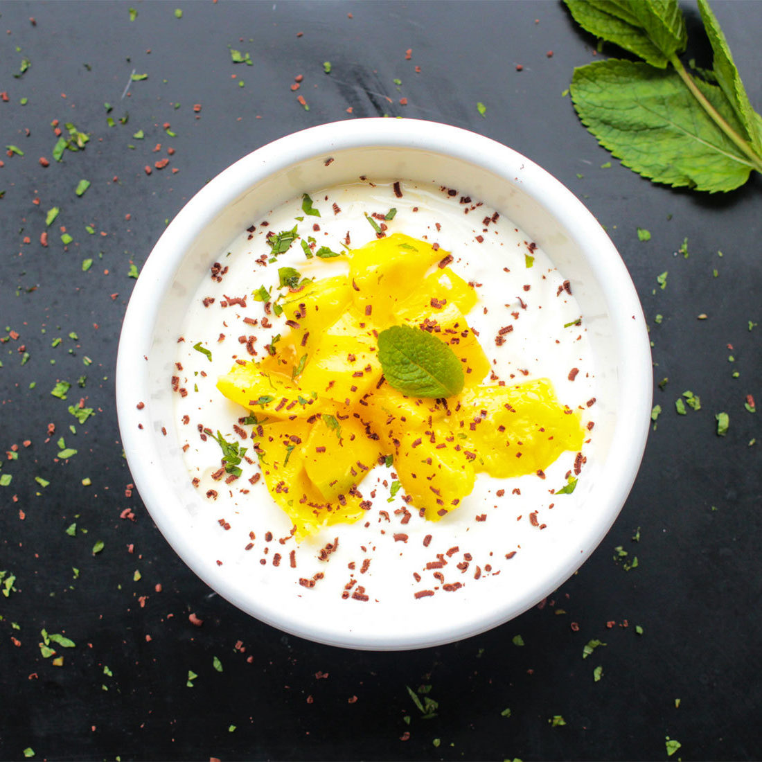 Yoghurtje Mango