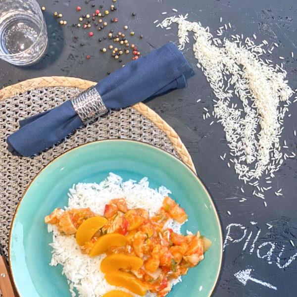 Pilav met kip en basmatirijst
