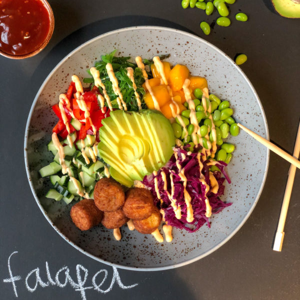 Pokebowl Falafel